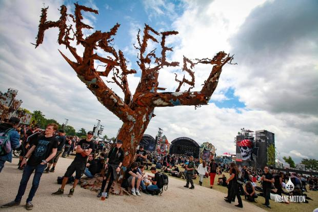 hellfest 2016 arbre insane motion